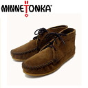 Regular dealer postage, collect on delivery fee free of charge MINNETONKA( Mine Tonka) Suede Ankle Boots( suede ankle boots )#273 DUSTY BROWN SUEDE Lady's MT220fs3gm