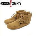 Regular handling shop shipping & cash on delivery fee free MINNETONKA (Minnetonka) Tie Fringe Ankle Boot (タイフリンジアンクル boot) #297K TAUPE women's MT152fs3gm