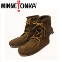 Regular handling shop shipping & cash on delivery fee free MINNETONKA (Minnetonka) Tramper Ankle Boots (トランパーアンクルハイ boot) # 428 in DUSTY BROWN SUEDE ladies MT222fs3gm