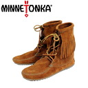 Regular dealer MINNETONKA( Mine Tonka )Tramper Ankle Hi Boot( tramper ankle high boots )#422 BROWN Lady's MT025fs3gm