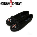 Regular dealer postage, collect on delivery fee free of charge MINNETONKA( Mine Tonka )Thunderbird II( Thunderbird II)#600 BLACK SUEDE Lady's MT169fs3gm