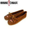 Regular dealer postage, collect on delivery fee free of charge MINNETONKA( Mine Tonka )Thunderbird II( Thunderbird II)#602 BROWN SUEDE Lady's MT171fs3gm