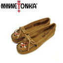 Regular dealer postage, collect on delivery fee free of charge MINNETONKA( Mine Tonka )Thunderbird II( Thunderbird II)#607T TAUPE SUEDE Lady's MT174fs3gm