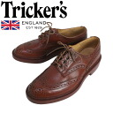 Regular dealer Tricker's トリッカーズ 5633M COUNTRY BOURTON( country Burton) double leather sole marron antique TK003fs3gm