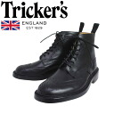 Regular dealer Tricker's トリッカーズ 2508M COUNTRY BROGUE( country brogue) double leather sole flight recorder calf TK009fs3gm