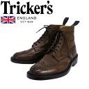 Regular dealer Tricker's トリッカーズ 2508M COUNTRY BROGUE( country brogue) ダブルレザーソールコーヒーバーニッシュ TK017fs3gm