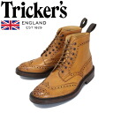 Japan domestic shipping COD fees free regular handling shop Tricker's trickeries 2508M COUNTRY BROGUE (country blog) day night sort 1001 varnish TK029