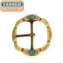 VASSER (Vassar) Buckle 021BSP-A Flower Special Vintage( buckle 021BSP-A flower special vintage) 50mm