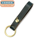 VASSER( Vassar )Casquette Boy Leather Key Chain Navy( casquette boy leather key chain navy)