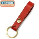 VASSER( Vassar )Casquette Boy Leather Key Chain Red( casquette boy leather key chain red)