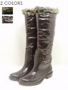 Fur long shot rain boots 05P20Dec13 Lady's shoes / boots / fur / pullover boots / protection against the cold / boots / bulky / long / boots belonging to