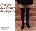 Stretch x treated boots 05P18Oct13 Womens-shoes / boots / knee high boots / knee high / ニーハイブーツ / stretch boot /