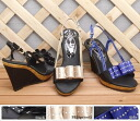 SPECIAL PRICE! 2,000 yen Slingbacks satin sandals! Sale /SALE/50% off below