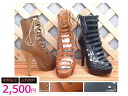 / / / / ☆ NEW ☆ / / サイドレースアップ boots sandals! Sale /SALE/50% off