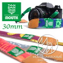 MOUTH TANSAN camera strap mouse carbonic textile tree specimen 30 mm made in Japan MJC15040 [collaboration and one eye / women's / cute / Scandinavian / mirrorless]