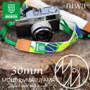 TANSAN TEXTILE×MOUTH tansanteki style x mouse straps niwa 30 mm MJC15042 [/ Nordic collaboration with cute and stylish camera bag /]