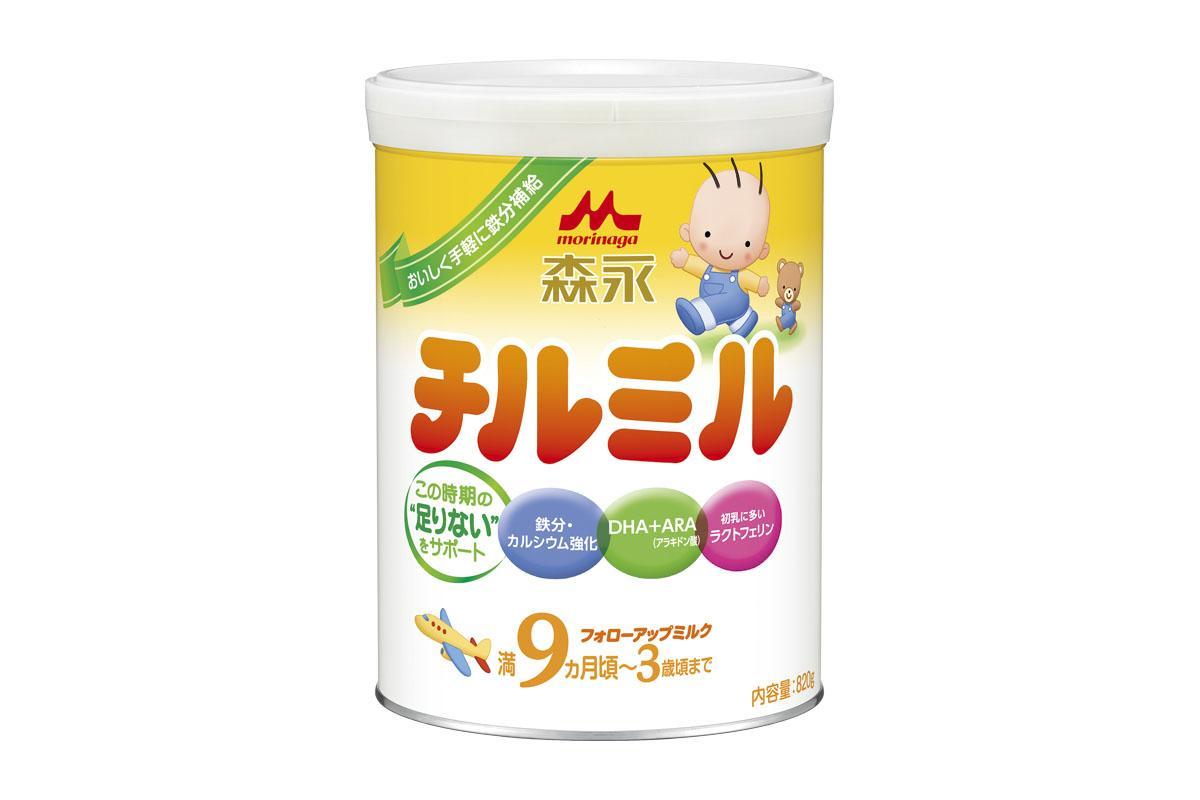 「森永 チルミル 大缶 12ヶ月頃から」の画像検索結果