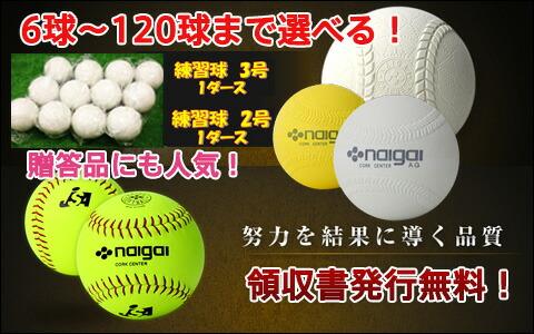 野球・ソフトボール ボール