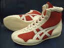 Asics shortstop boxing shoes U.S.A. shop original color red x white