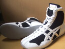 アシックスショート boxing shoes America-ya original color black x White