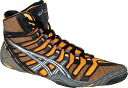 ASICS OMNIFLEX-PURSUIT ASICs Wrestling Shoes Orange