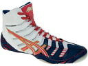 ASICS OMNIFLEX-PURSUIT ASICs Wrestling Shoes Navy x White x Red