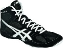 Instead of V6.0 asics cael Wrestling Shoes Black Silver boxing shoes recommended