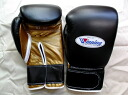 Winning winning training boxing gloves (Protoype) Velcro Vol 10 oz Black x Gold boxing gloves