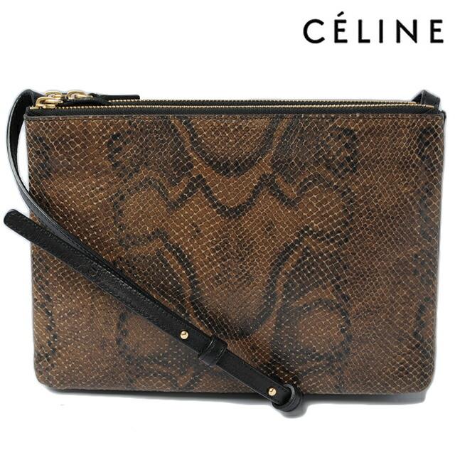 celine python clutch bag