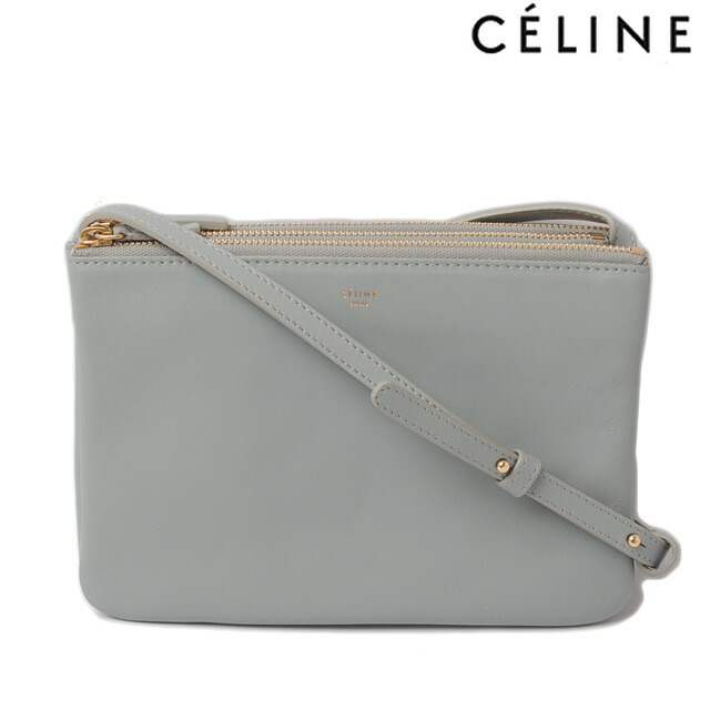 celine wool trio shoulder bag