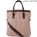 Louis Vuitton LOUIS VUITTON Tote / shoulder bag Françoise 2way Monogram Mini Cherry M92210