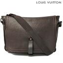 Louis Vuitton LOUIS VUITON bag Omaha Messenger bag M92071 Utah Cafe men
