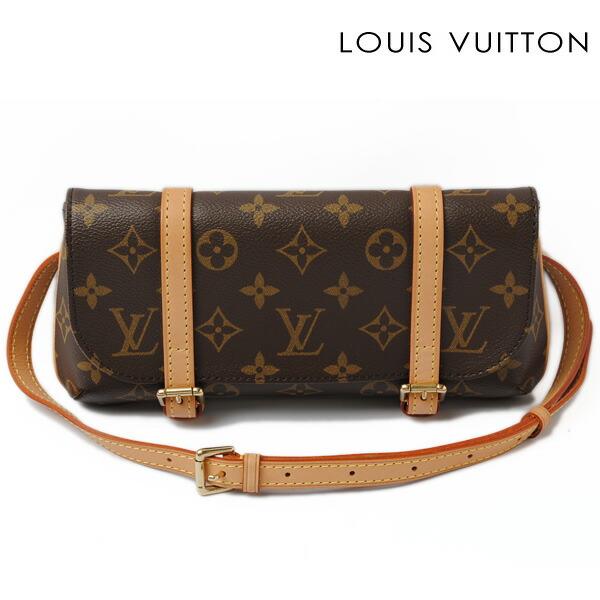 Louis Vuitton body bag ウエストポーチモノグラムポシェットガンジュ M51870 used B