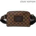 LOUIS VUITTON Louis Vuitton body bag / bum-bag Bam bag Brooklyn N41101 ダミエ
