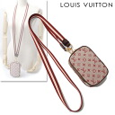 Digital camera case / porch cherry M60001 [used] with LOUIS VUITTON Louis Vuitton monogram mini-Usu digital strap