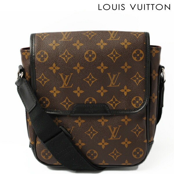 LOUIS VUITTON Louis Vuitton shoulder bag waist porch / body bag monogram Bam bag boss fall M40108