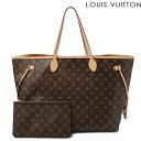Louis Vuitton LOUIS VUITTON tote bag neverfull GM M40990 Monogram w/pouch