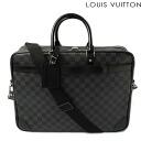 Louis Vuitton LOUIS VUITTON business bag/N41123 port document voyage GM Damier graphite