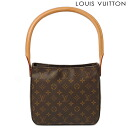 Louis Vuitton LOUIS VUITTON bag Monogram looping out of print products M51146