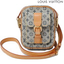 Louis Vuitton LOUIS VUITTON bag Monogram mini Juliette PM M92005 blue