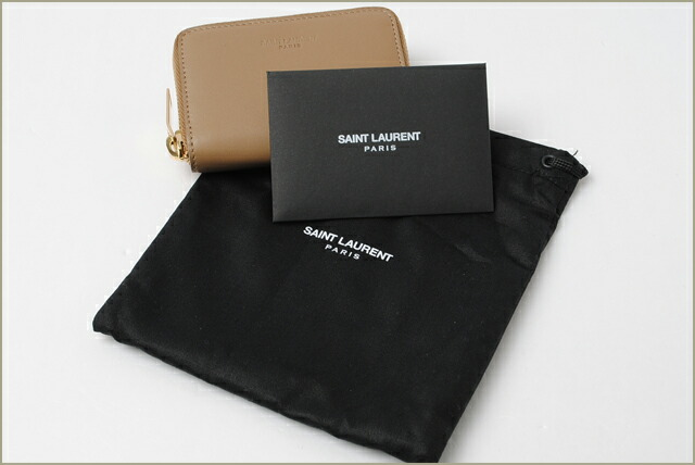 ysl wallet with paris address coin purse