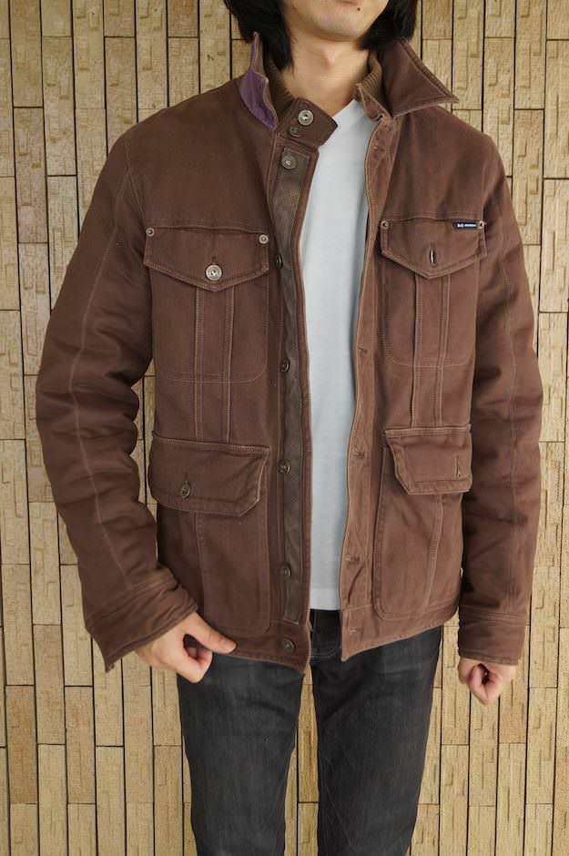 Brown Cotton Jacket | Jackets Review