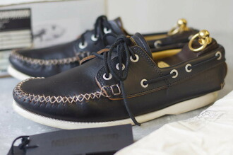 Quoddy Trail Moccasin 休閑鞋 天然真皮