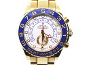 [new article] -ROLEX- yacht-master II oyster breath [116688] [self-winding watch] [men]