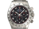 [new article] -ROLEX- Daytona Arabia oyster bracelet [116509] [black] [self-winding watch] [men]