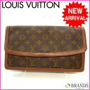 (deep-discount immediate delivery) (correspondence) Louis Vuitton /Louis Vuitton/ second bag / monogram / brown / M476