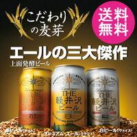 3大エール 白ビール 赤ビール プレミアムエール お試し3缶セット