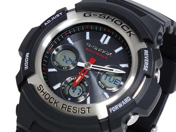 【送料無料】カシオ CASIO Gショック G-SHOCK 電波 ソーラー マルチバンド5 腕時計 AWGM100-1A ウォッチ 時計 うでどけい