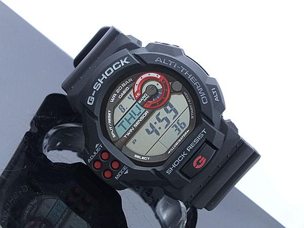 カシオ CASIO Gショック G-SHOCK ツインセンサー 腕時計 GDF100-1A 着用イメージ