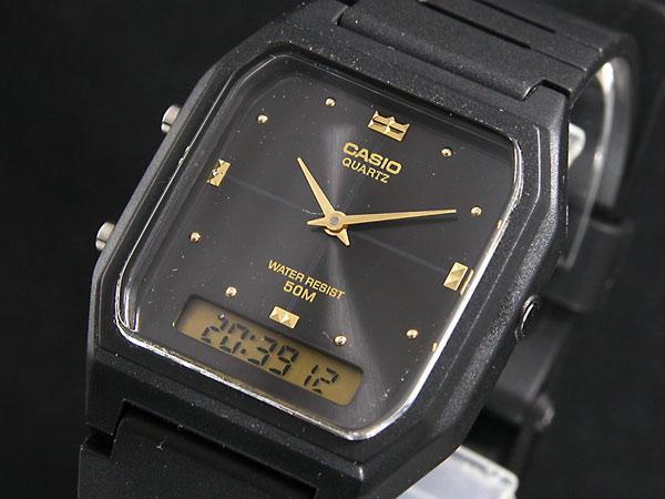 カシオ CASIO アナデジ 腕時計 AW48HE-1A ウォッチ 時計 AW-48HE-1A うでどけい